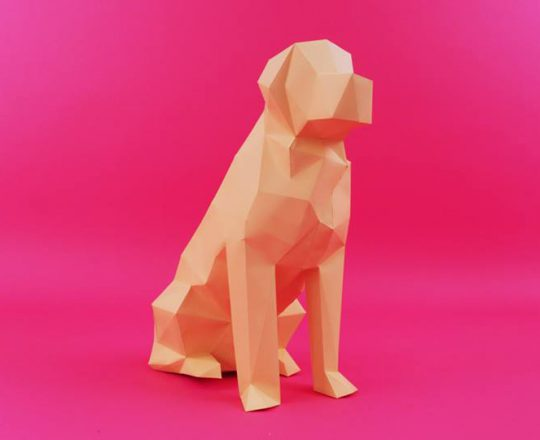 Low Poly - Paper Art - Laboratoire Demavic