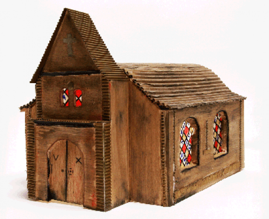 Eglise - Carboard Art
