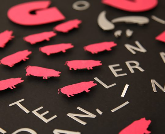 Cochons en Papier - Signature Studio Pig Up